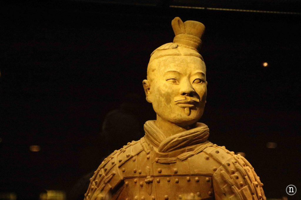 Guerrero de terracota xian