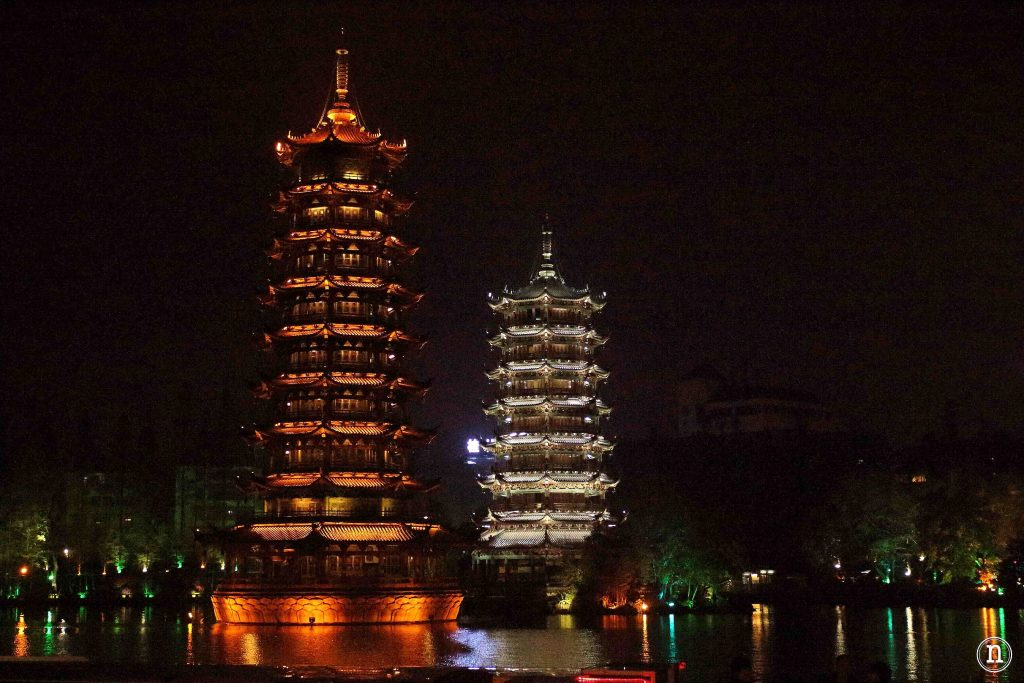 Pagodas del Sol y de la Luna.
