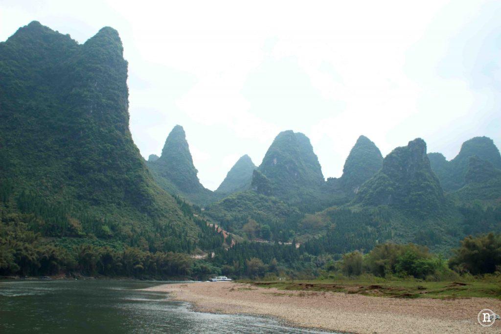 Espectacular paisaje del Río Li.