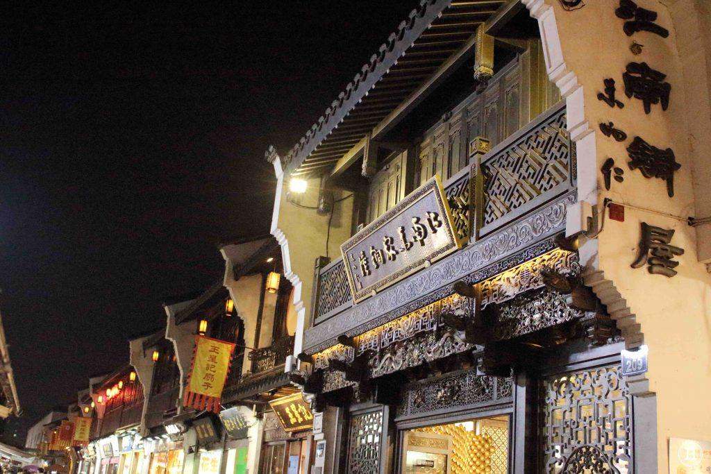 mercado noche hangzhou