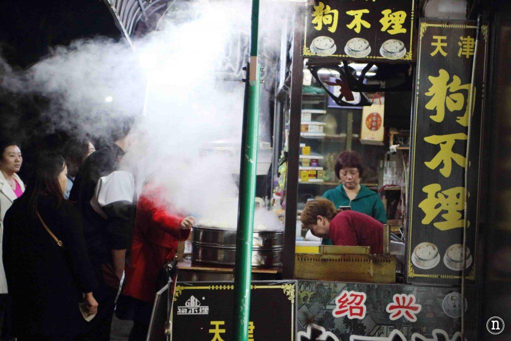 mercado en Hangzhou