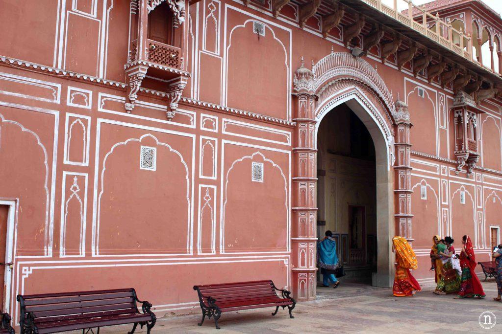 entrada al palacio de jaipur