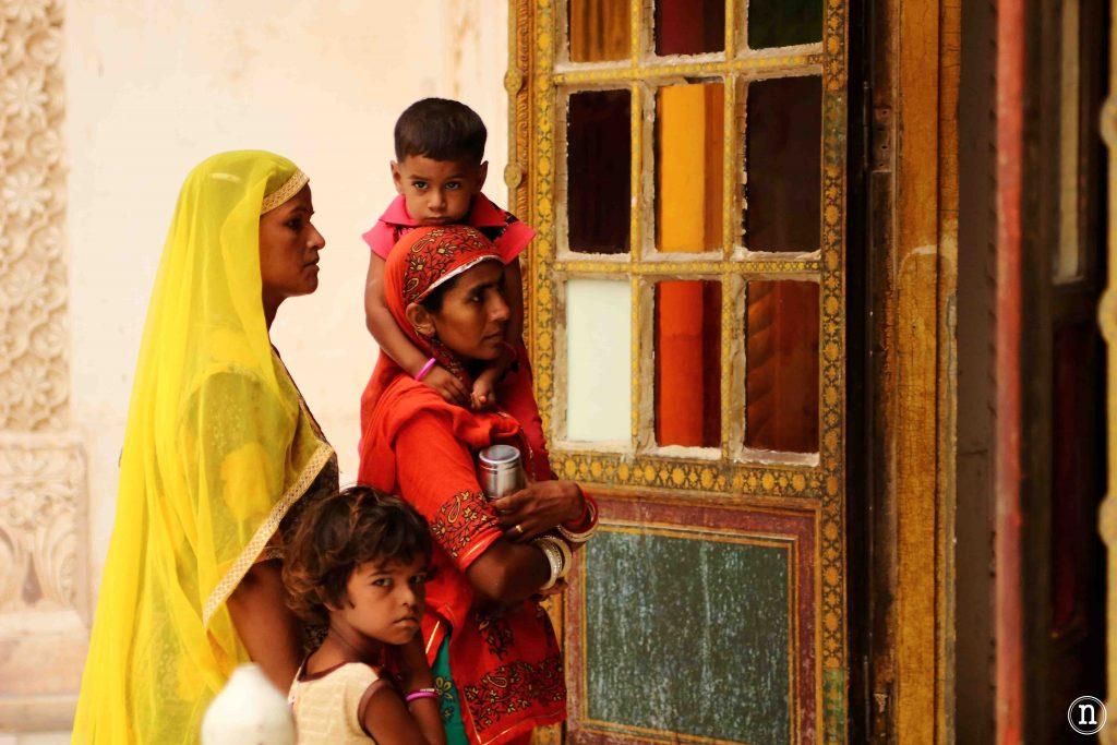 gente rural en Jodhpur