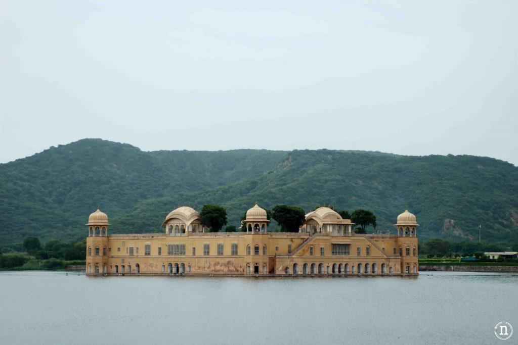jal mahal o palacio sobre el agua jaipur