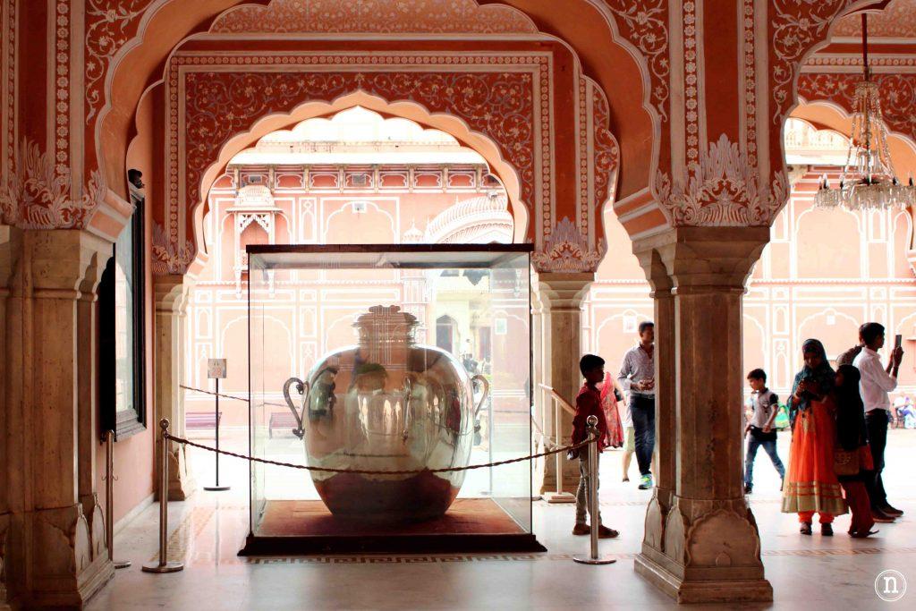 jarras de plata palacio de jaipur