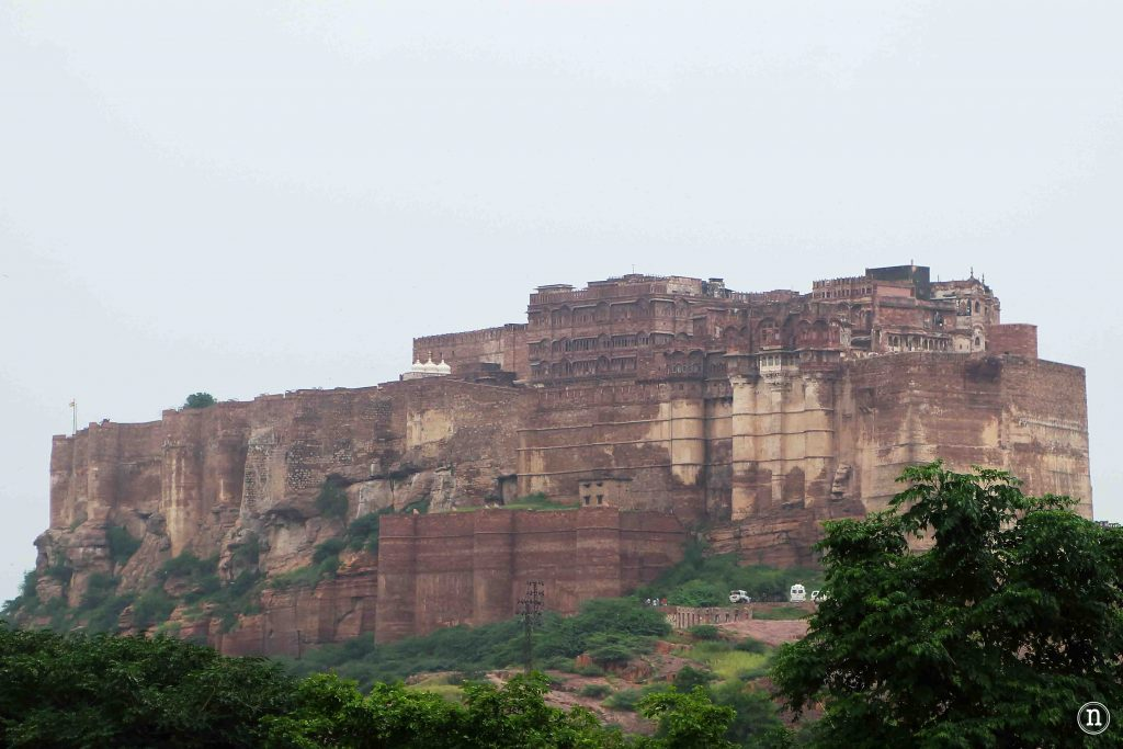 mehrangarh fortaleza jodhpur alto colina