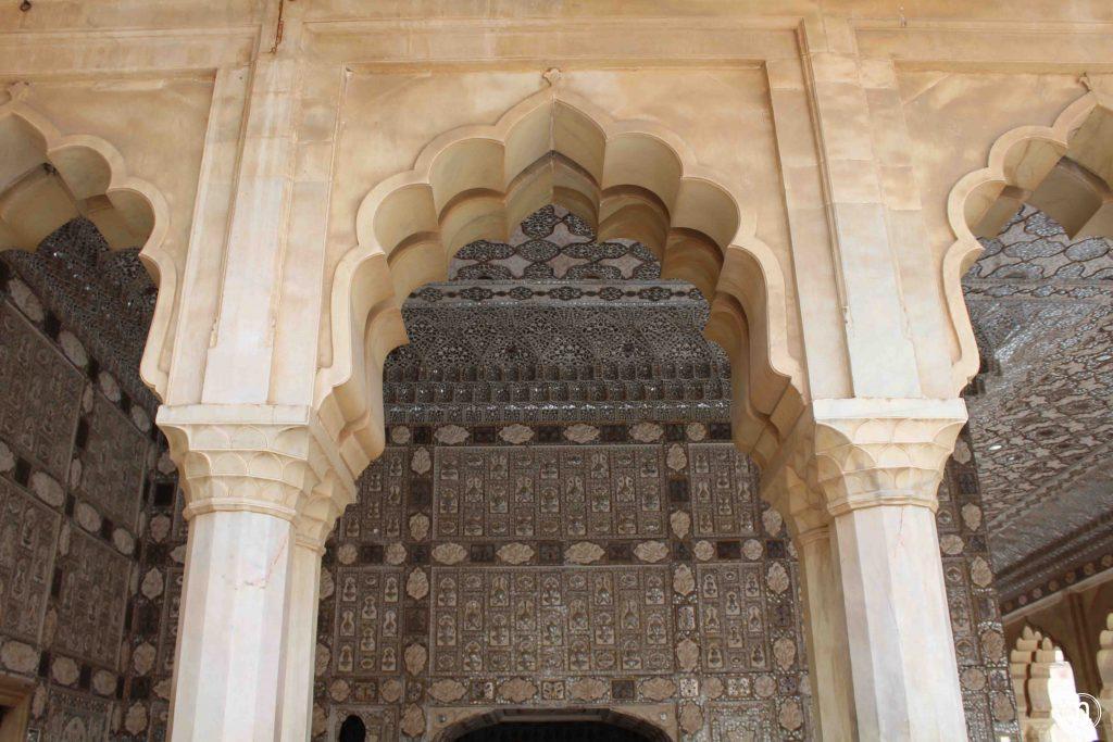 palacio de los espejos fuerte amber jaipur