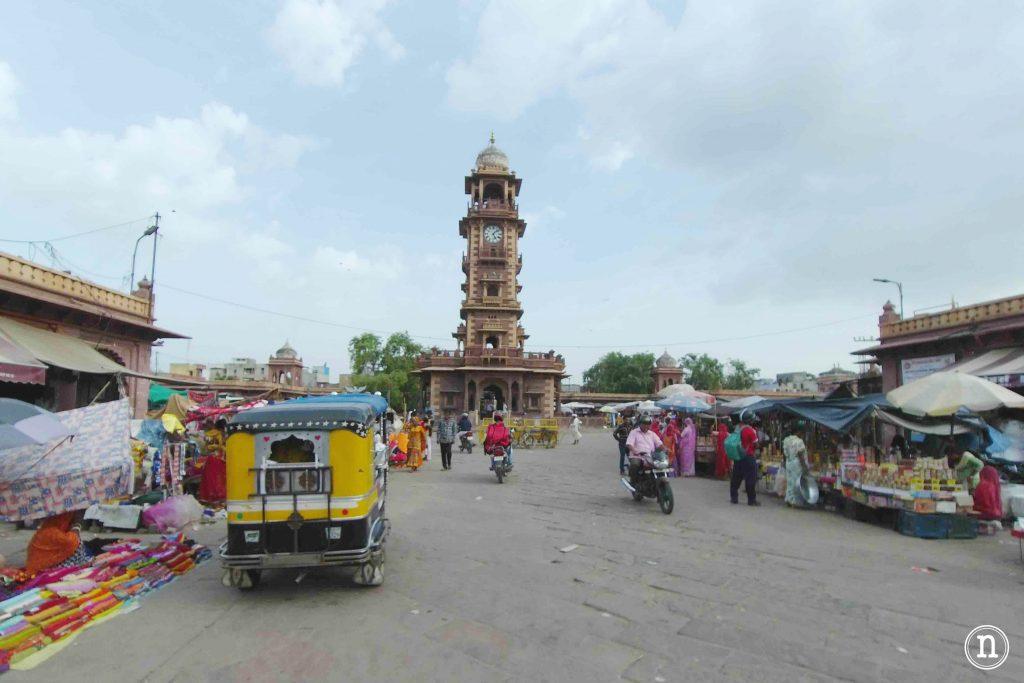 torre del reloj Jodhpur