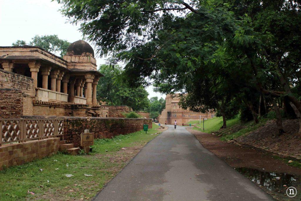 entrada al fuerte de gwalior