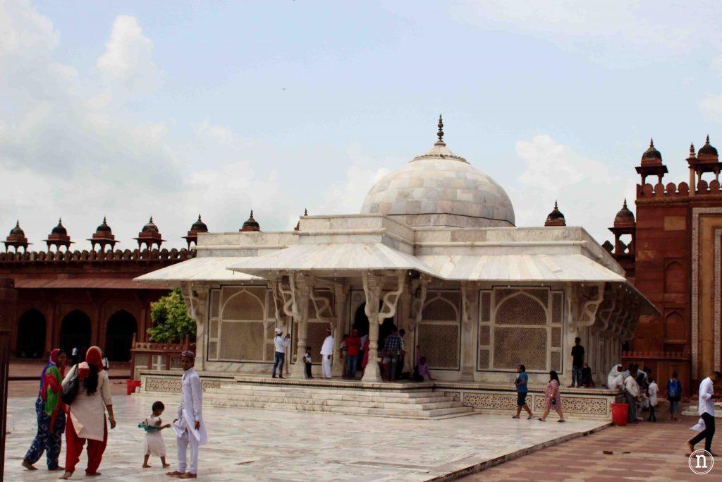 tumba del santo sufi