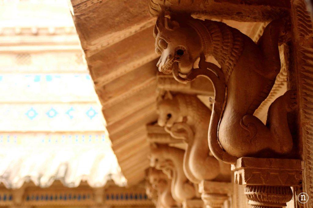 detalle palacio gwalior