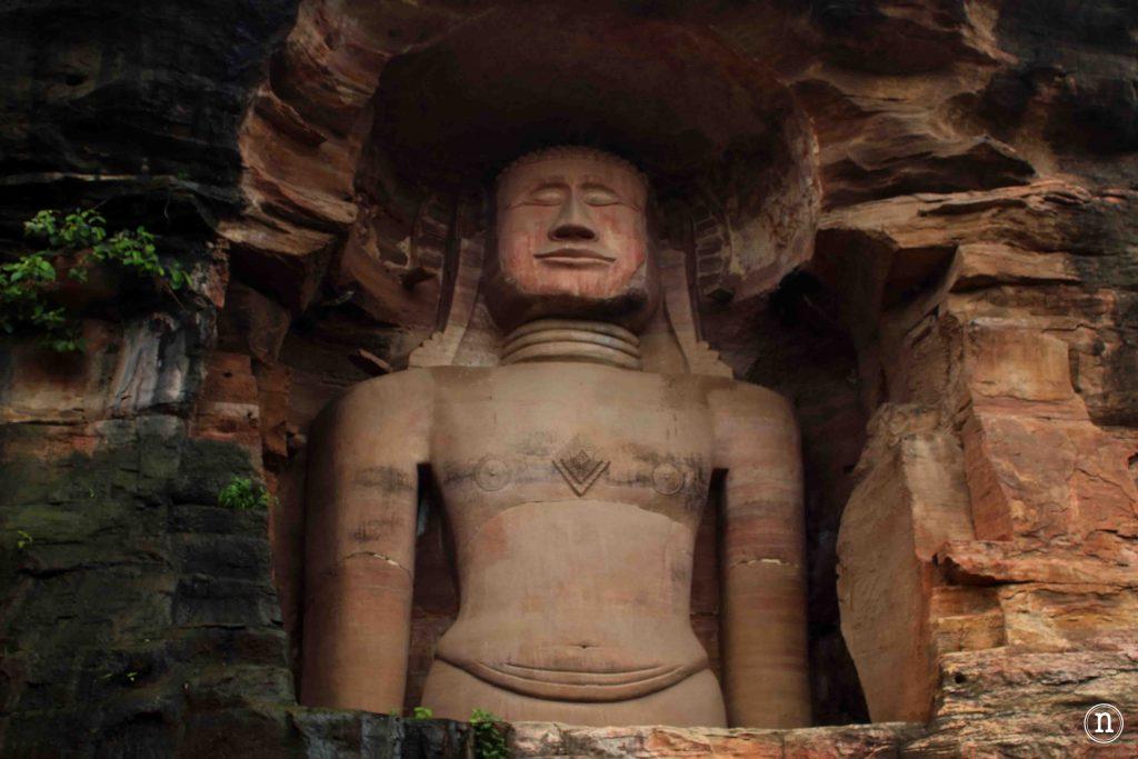 esculturas jainies gwalior