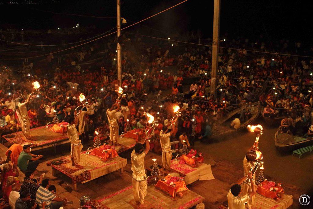 ceremonia aarti varanasi