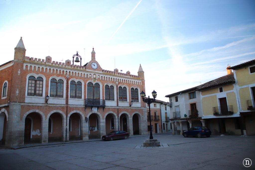 plaza mayor de tiedra