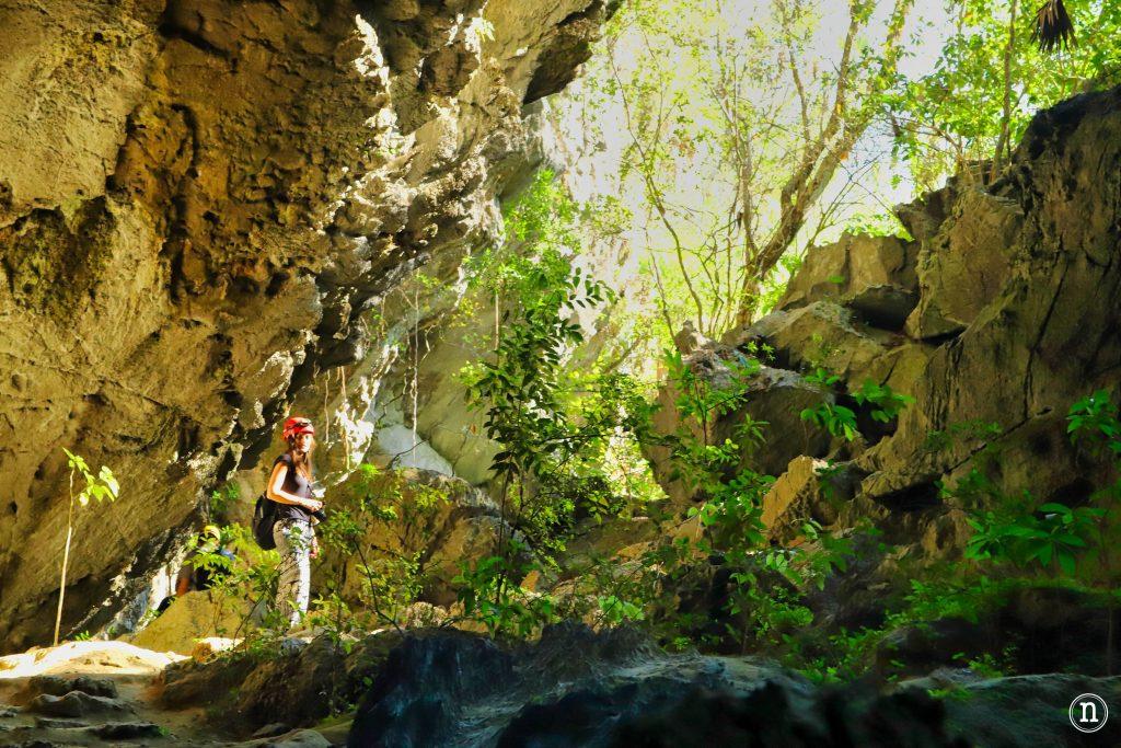 cueva de santo tomas interior