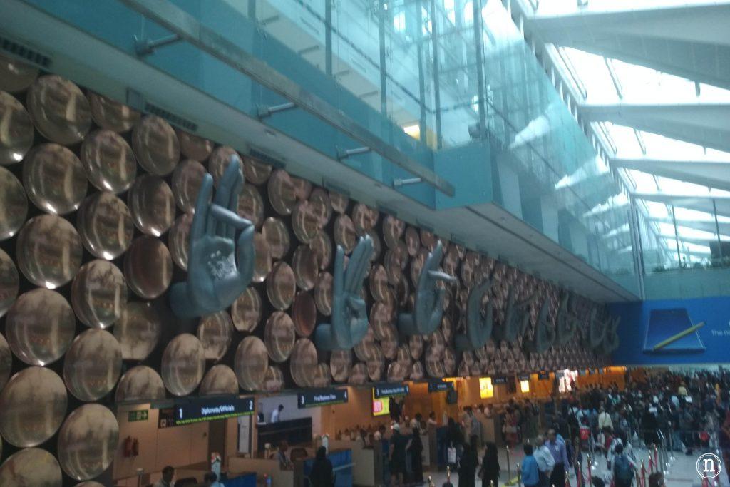 aeropuerto indhira gandhi
