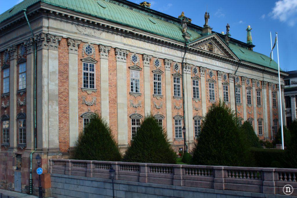 La casa de la nobleza - Riddarhuset en Estocolmo