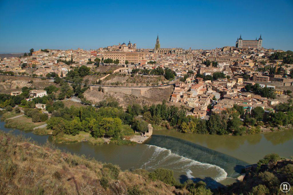 Toledo desde el mirador del valle