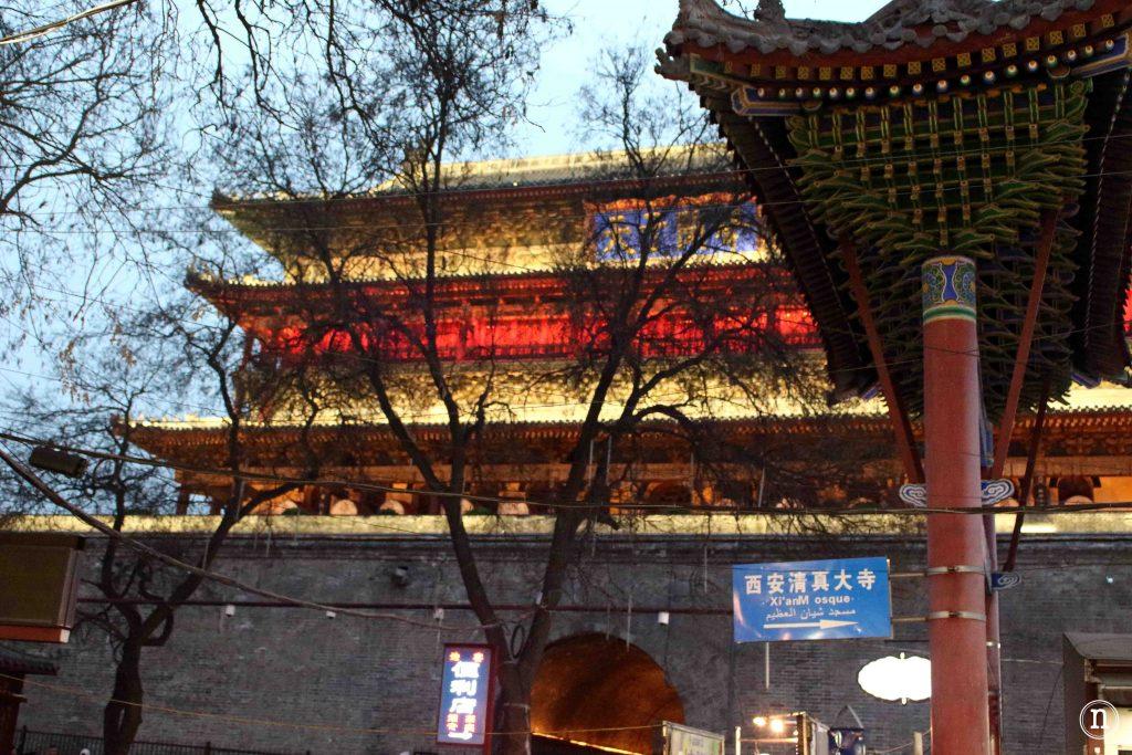 torre del tambor xian