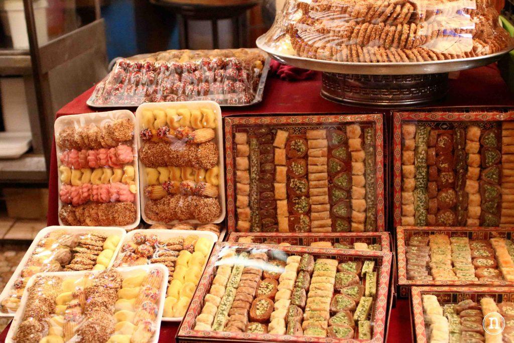dulces típicos en Ammán