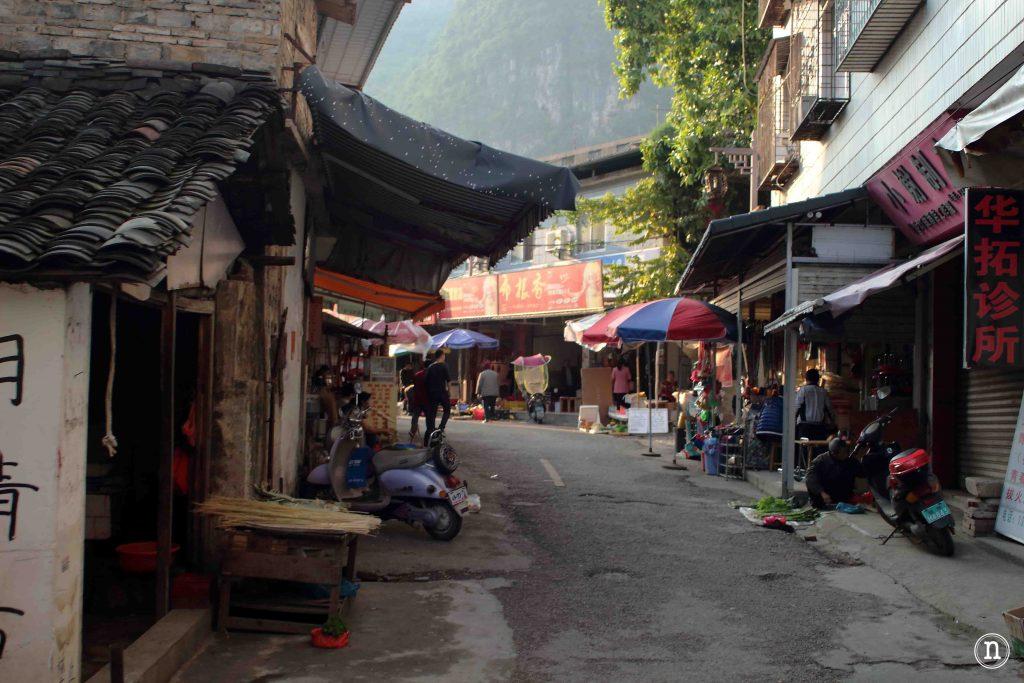 Mercado de Yangshuo.