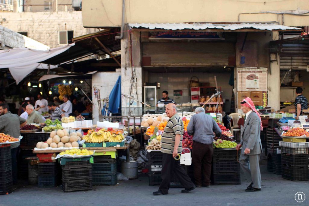 Mercado en Ammán