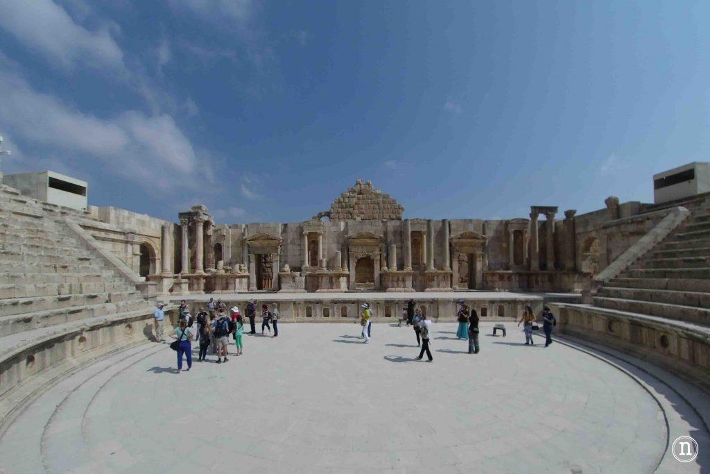 Teatro grecorromano de Jerash