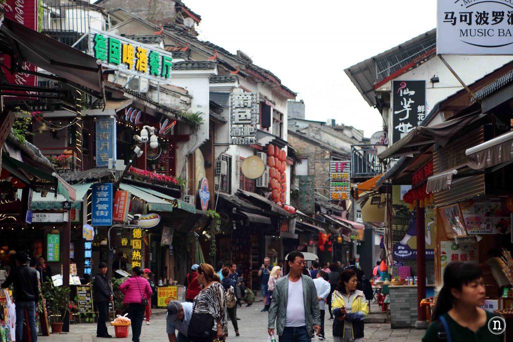 Centro de Yangshuo.