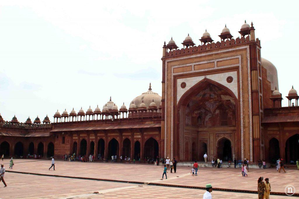 plaza de la mezquita jama masjid