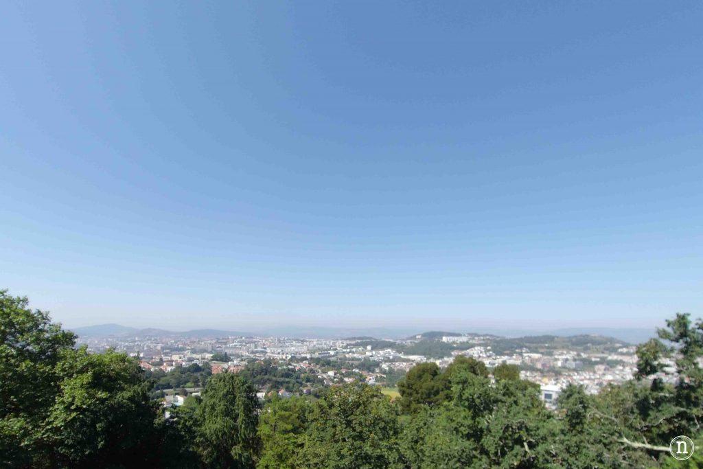 vistas de braga desde bom jesus do monte