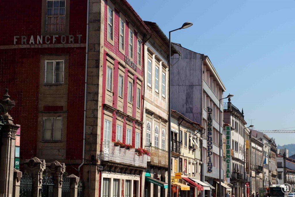 calles centro braga