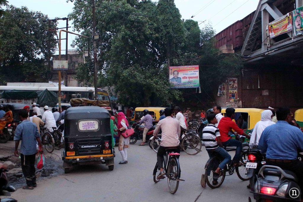 el caos de varanasi