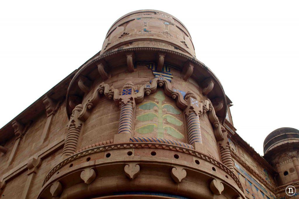 fachada fortaleza gwalior