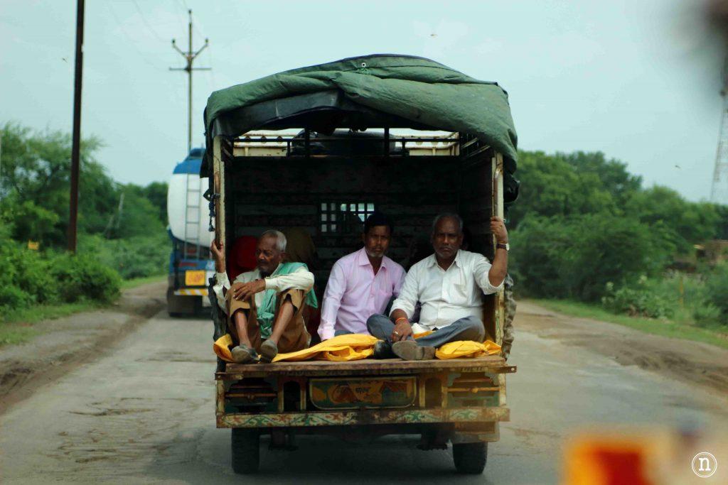 los hombres del camion