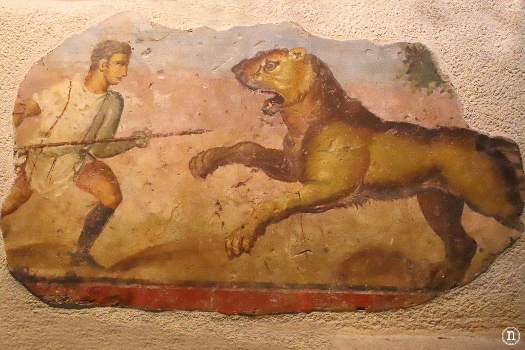 escena caza museo merida