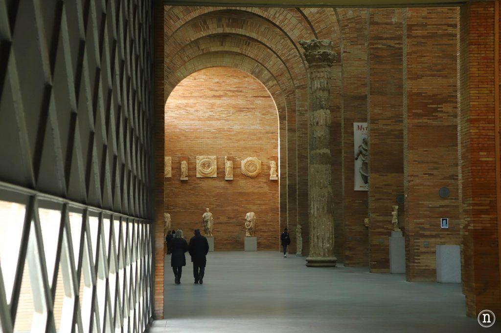 museo romano merida interior