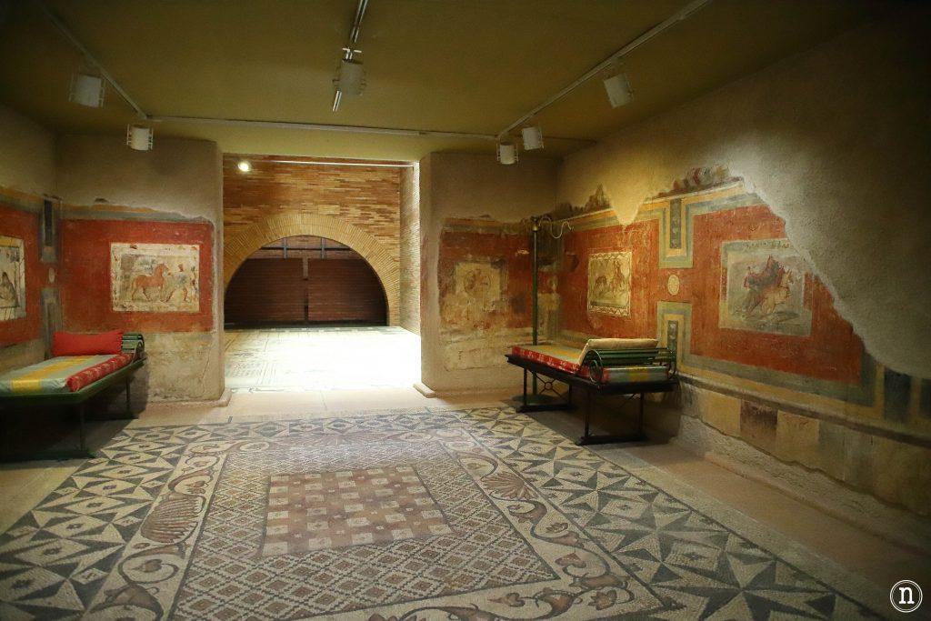 recreación vivienda romana