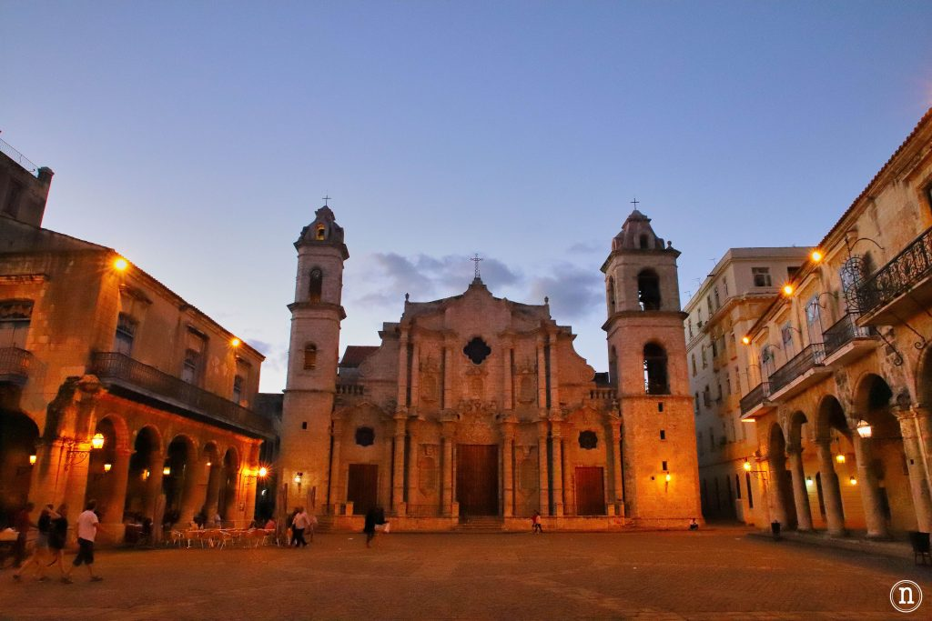 catedral noche la habana