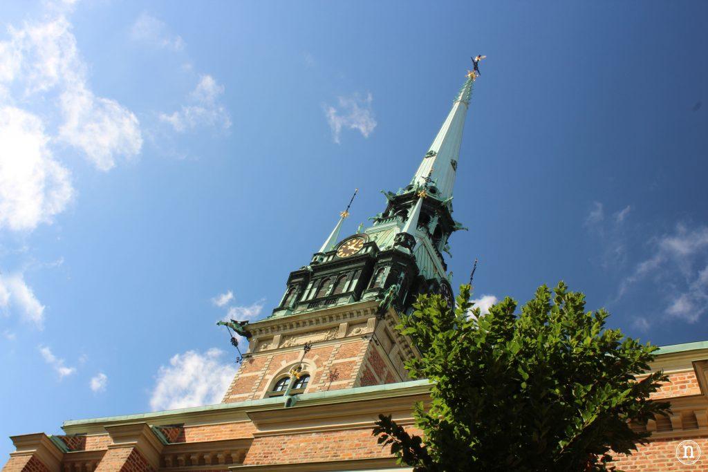 Tyska Kirkan la iglesia alemana de Estocolmo